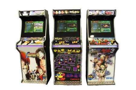 Máquinas Arcade, Retro Arcade, Video Jogos